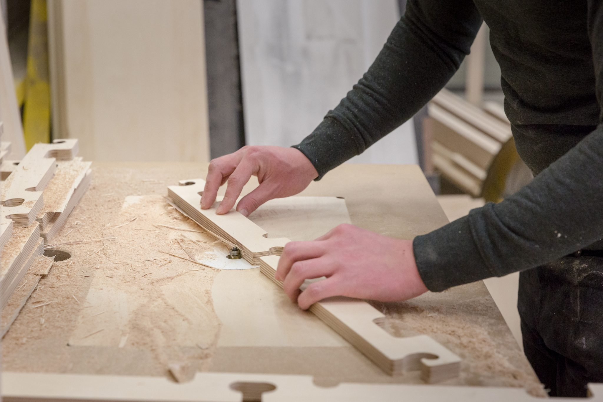 Some pieces require hand finishing for a satisfying finish.